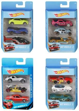 """Подарочный набор из 3 машинок """"Хот Вилс"""" Mattel"""
