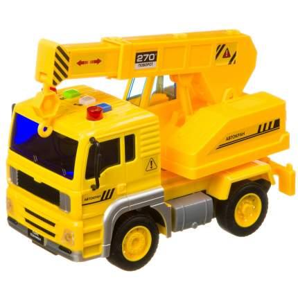 Инерционная машинка Bondibon «ПАРК ТЕХНИКИ», автокран, свет, звук BOX 24х12х15,5