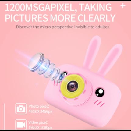 Детский цифровой фотоаппарат Lemon Tree Pink Rabbit