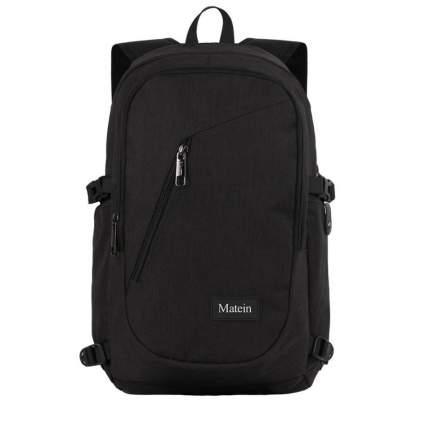"""Рюкзак для ноутбука Slim Matein Laptop, 15"""", черный"""