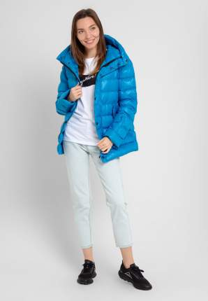 Пуховик женский Parrey 18wwjmod2 синий XL