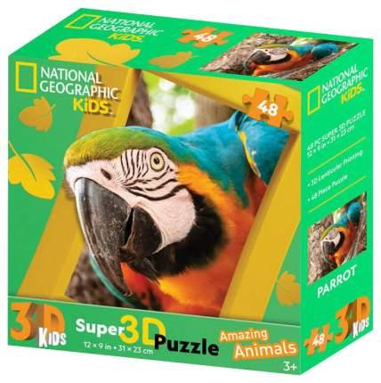 3D-пазл Prime 3D 48 Попугай