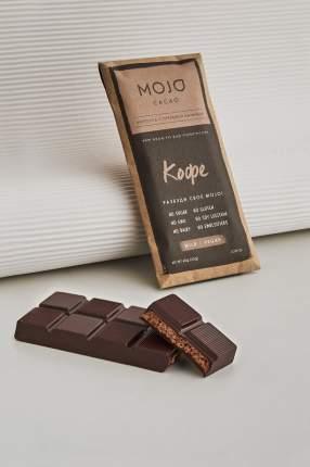 Горький шоколад 72% Mojo Cacao с шоколадно-ореховой пасто со вкусом кофе