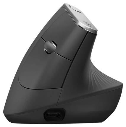 Беспроводная мышка Logitech MX Vertical Silver/Black (910-005448)