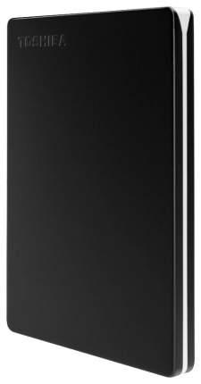 Внешний диск HDD Toshiba Canvio Slim 1TB Black (HDTD310EK3DA)