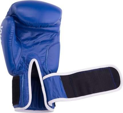 Боксерские перчатки Green Hill Gym синие 12 унций