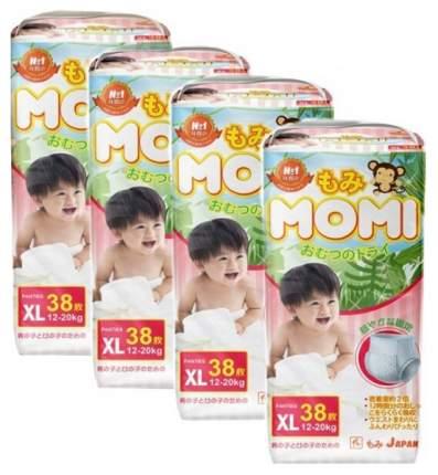 Подгузники-трусики MOMI Xl (12-20 кг) 38 шт