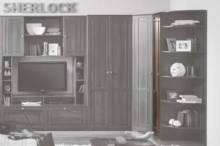 Платяной шкаф Hoff Sherlock 80095184 40х210,7х59, орех шоколадный