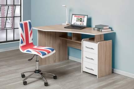 Компьютерный стол Hoff 80293144, бежевый/белый