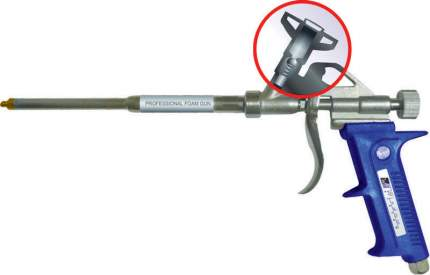 Пистолет для монтажной пены WindowSystem (WS) 9079Т, WSGUN07908