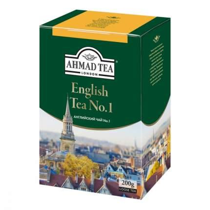 """Чай Ahmad """"English Tea №1"""", черный листовой с бергамотом, 200 гр"""