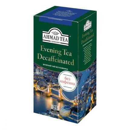 """Чай Ahmad """"Evening Decaffeinated"""", черный с бергамотом без кофеина, 25 пакетиков"""