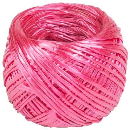Проволока для подвязки растений Listok LMU001P Шпагат полипропиленовый розовый 60 м