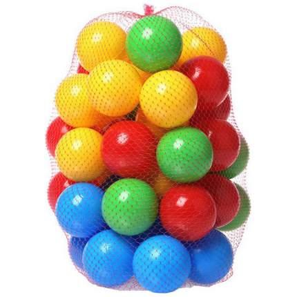 Шарики пластиковые Нордпласт для сухих бассейнов 411 50 шт. разноцветные