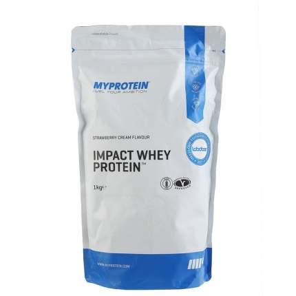 Протеин MyProtein Impact Whey Protein 1000 г Strawberry Cream