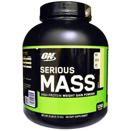 Гейнер Optimum Nutrition Serious Mass, 2730 г, vanilla