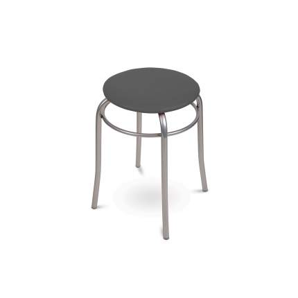 Табурет Nika ТБС2/С 30х30х46,5 см, коричневый/серый