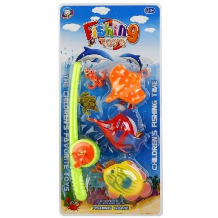 Игровой набор Shantou Gepai Рыбалка удочка + 3 рыбки, B1308756