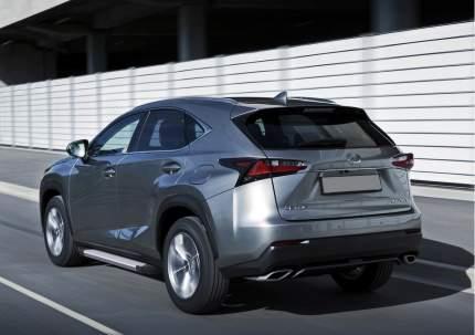 """Пороги на автомобиль """"Silver"""" Rival для Lexus NX 2014-2017, 173 см, 2 шт., F173AL.3202.1"""