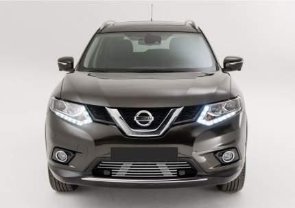 Решетка бампера d10 Rival Nissan X-trail T32 (без перед.партроников) 2015-2018, G.4103.001