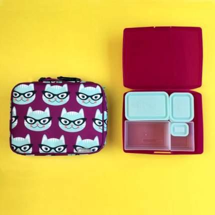 Сумка для ланча + набор ланч-боксов Bento Lunch Box Set