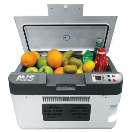 Автохолодильник AVS SH802 синий, белый