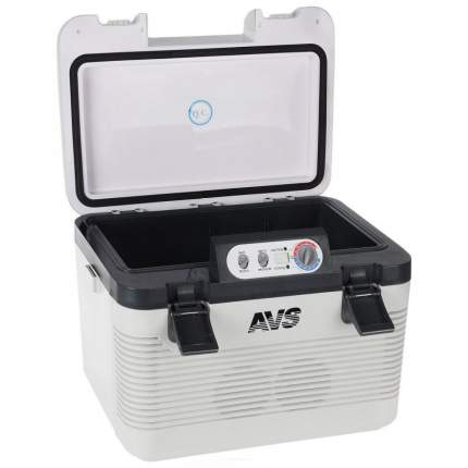 Автохолодильник AVS ALDX123503 серый, черный