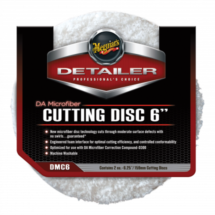 """Режущий диск DA Microfiber Cutting Disc 6"""" 15 см Комплект 2 шт DMC6"""
