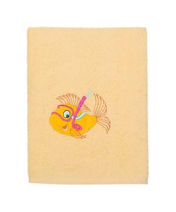 Полотенце Kidboo Рыбка 70х100 желтое