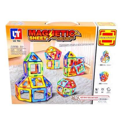 Магнитный 3D-конструктор Magnetic Sheet 46 дет. Shantou Gepai LT1002