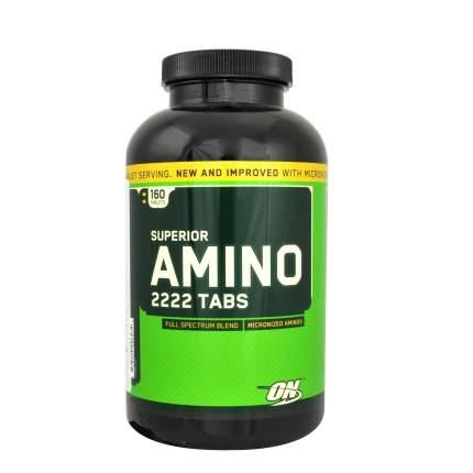 Superior Amino 2222 Optimum Nutrition, 160 таблеток