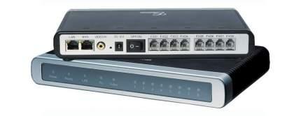 Шлюз VoIP Grandstream GXW4108 8xFXO 2xEthernet 10/100Мб/с
