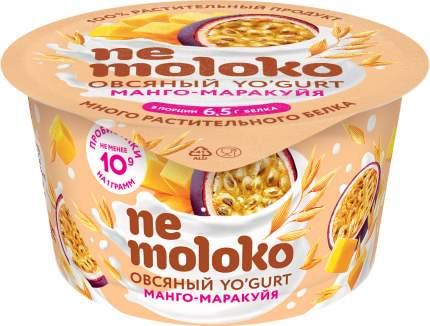 Напиток овсяный Nemoloko Манго-маракуйя с пробиотиками, витаминами  5% 130 г