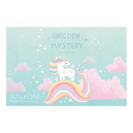Альбом для рисования Art Space Рисунки Unicorn mystery А4 на скрепке 28,5х20,5х0,8см 40 л