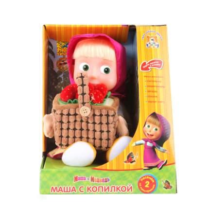 Мягкая игрушка Мульти-Пульти Маша с копилкой д/денег