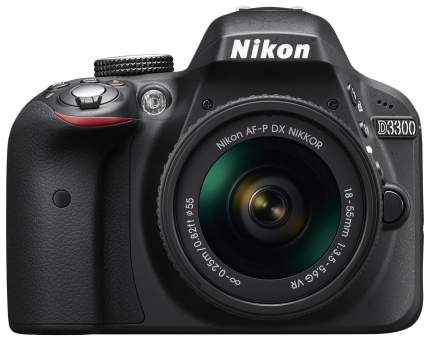 Фотоаппарат зеркальный Nikon D3300 AF-P 18-55mm Black