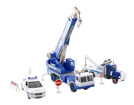 Набор машин спецслужб Welly 99610-10a Полиция