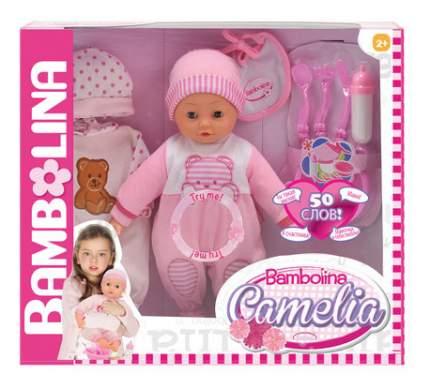 Пупс интерактивный Dimian Bambolina Camelia, 40 см