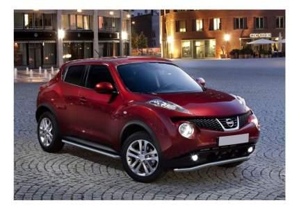Защита порогов RIVAL для Nissan (R.4115.002)