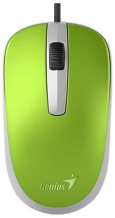 Проводная мышка Genius DX-110 Green (DX-110)