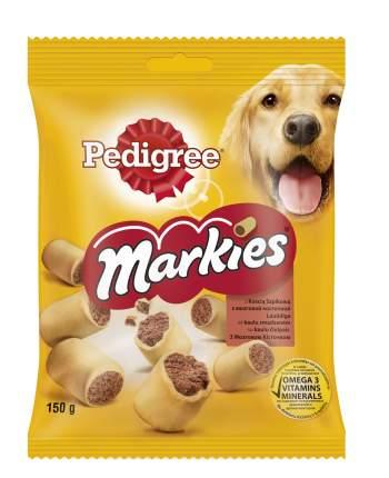 Лакомство для собак Pedigree Мarkies, рулетики, мясо, 150г