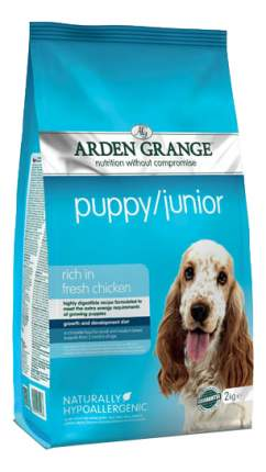 Сухой корм для щенков Arden Grange Puppy/Junior, курица,  2кг