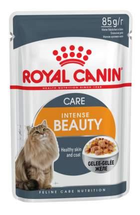 Влажный корм для кошек ROYAL CANIN Intense Beauty, рыба, 12шт, 85г