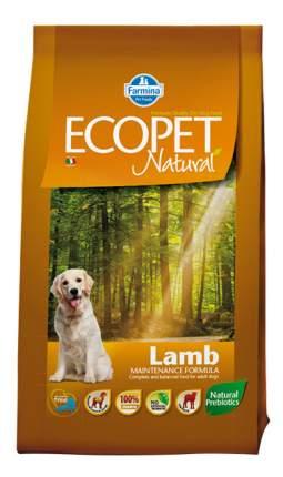Сухой корм для собак Farmina Ecopet Natural, любых пород, ягненок, 12кг
