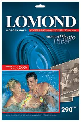 Фотобумага Lomond 1108100 Белый