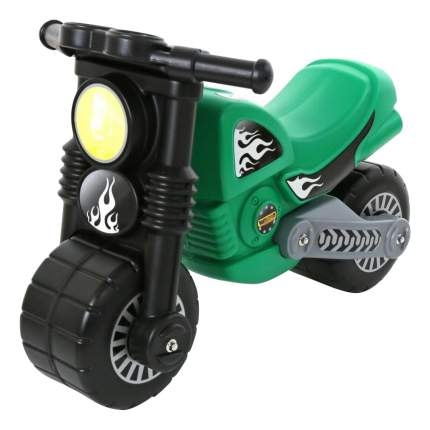 Толокар Wader Моторбайк зеленый (40480_PLS)