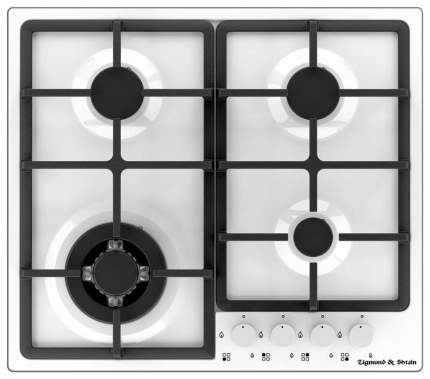 Встраиваемая варочная панель газовая Zigmund & Shtain GN 88.61 W White