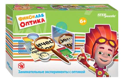 Семейная настольная игра Step Puzzle Фиксилаб Оптика 76168-no