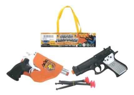 Игровой набор Junfa Toys Набор из 2-х пистолетов с присосками