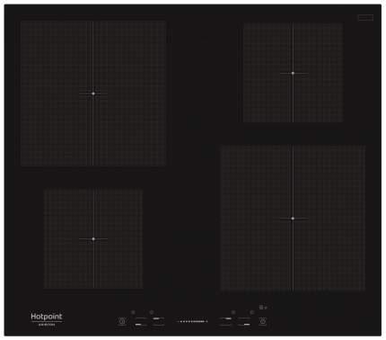 Встраиваемая варочная панель индукционная Hotpoint-Ariston KIS 640 C Black
